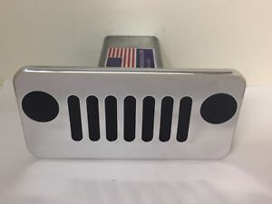 Hitch Cover Jeep Grill Jeep