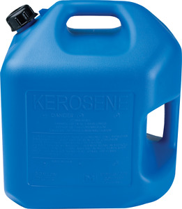 5 Gallon Blue Kerosene Can pack Of 2 Midwest P 7600