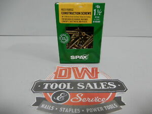 Spax Screws Made In Usa 1 1 2 Interior Flat Head 8 5lbs
