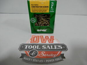 Spax Screws Made In Usa 2 Interior Flat Head 8 5 Lbs