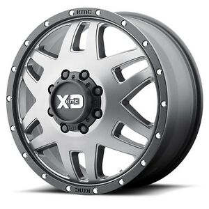 17 Inch Grey Wheels Rims Ford F350 F 350 Drw Dually 8x6 5 Set Of Four Xd Series