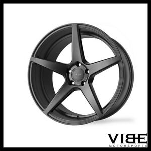 22 Velgen Classic5 Gunmetal Concave Wheels Rims Fits Chrysler 300