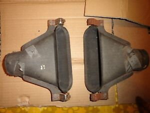 1964 Ford Thunderbird Windshield Defroster Ducts Left Right Heater 1965 66