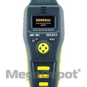 General Tools Mmd8p Precision Multi species Wood Moisture Meter