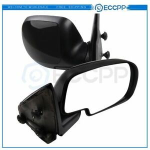 Left Right For 99 07 Silverado Sierra Manual Extend Tow Telescoping Side Mirrors