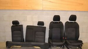 06 07 Mazdaspeed6 Seat Set Front Rear Black Cloth Mazda Speed 6 Ms6 2006 2007