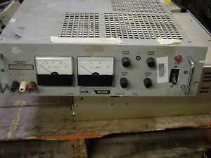 Systron Donner Trygon M5c40 30 ov Super Mercury Power Supply 40v 30a