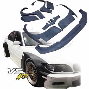 Vsaero Frp Tkyo Bunny V2 Wide Body Kit 4dr Sedan Fits Bmw 3 Series 325i 330