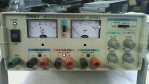 Tenma Triple Output Dc Power Supply Meter 72 4045a