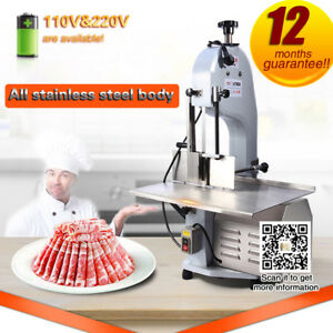 Free Shipping Commerial Meat Band Saw Desktop Chop Bone Cutting Machine