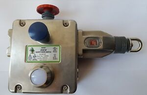 Idem Glhr ss Safety Rope Switch 145005 Stainless Steel r5s8 2b1