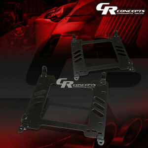 Pair Left right Racing Bucket Seat Mount Bracket For 05 15 Ford Mustang S197