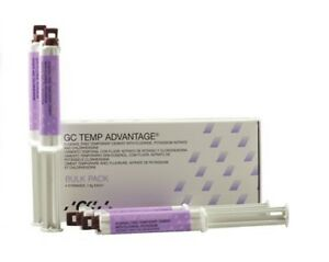 Gc Temp Advantage Eugenol Free Temporary Cement With Fluoride Bulk Pack
