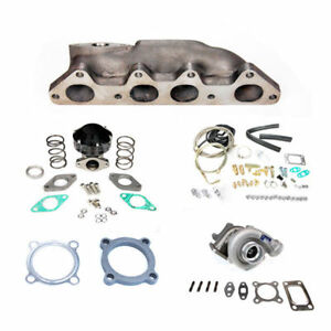For Honda Accord 94 02 F23 T3 Bolt On Manifold Turbo Charger Kit