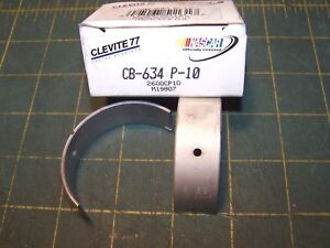 Clevite Cb 634p 10 Engine Rod Bearings For Ford 5 0l 302 V8 010 Under Size