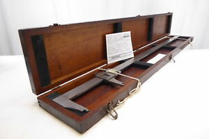 Brown Sharpe 570 Vernier Caliper Original Signed Wood Box Free Shipping