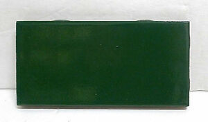 Vintage Franciscan Subway Tile Green