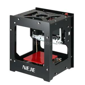 Neje Dk 8 fkz 1500mw High Speed Mini Usb Laser Engraver Diy Engraving Machine