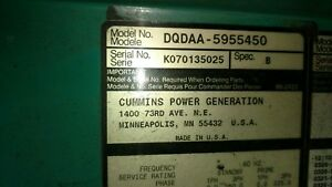 Used Portable Diesel Generators