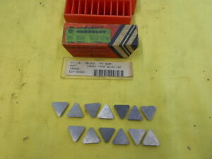 13 Carboloy Usa Tpg 324 F Indexable Carbide Inserts Lathe Mill Cutting Tool Bits