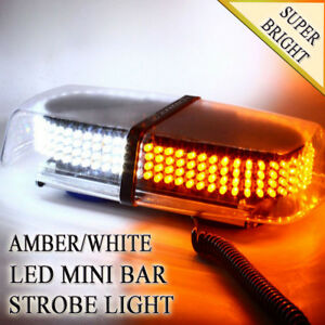 Zone Tech 240 Led Emergency Warning Roof Top Strobe Hazard Light Amber White