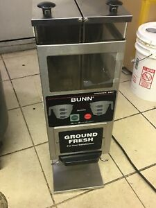 Bunn G9 2t Dbc Dual Hopper Portion Control Coffee Bean Grinder