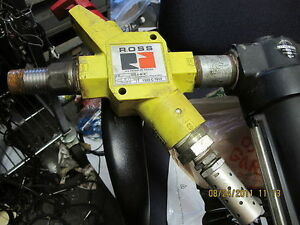Vacuum Manifold Ross Lox Norgren Oiler Filter Regulator