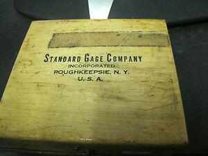 Standard 3 Paralloc D Snap Dial Gage 1 1 1 2 Range And Case