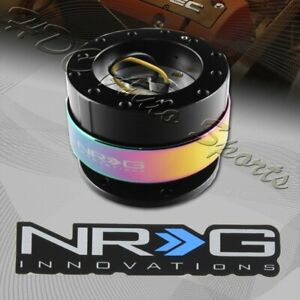 Nrg Blk neo Chrome Ball Lock 6 hole Steering Wheel Gen 2 0 Quick Release Adapter