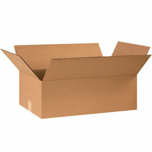 20 24 X 14 X 8 Cardboard Shipping Boxes Flat Corrugated Cartons