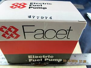 24v Facet Solid State Fuel Pump 2 75 4psi 32 Gph Carbureted Engines a2s3