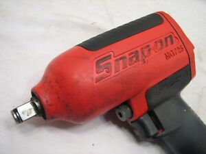 Snap On Mg725 1 2 Heavy Duty Drive Air Impact Wrench Auto Shop Tool Ratchet