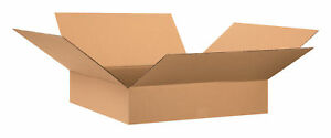 25 20 X 12 X 4 Cardboard Shipping Boxes Flat Corrugated Cartons