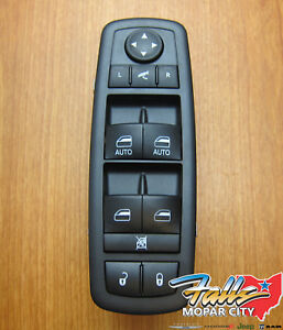 2012 2015 Chrysler Dodge Ram 1500 2500 Driver s Master Window Switch Mopar Oem