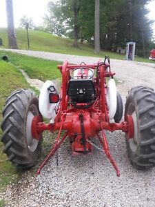 Tractor 1959 Ford Tractor 871
