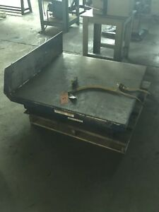 Hydraulic Lift tilt Table