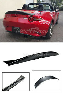 For 16 up Mazda Mx5 Miata Leg Sport Spoiler Duck Tail Style Rear Trunk Lip Nd