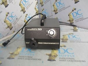 Ram Optical Instrumentation 30 2500 00 120 Vac 60 Hz 150 Illuminator
