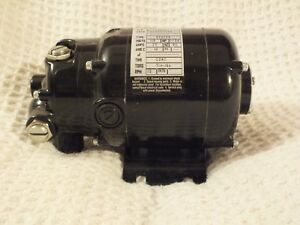 Faber Electric Motor type Nsh 12r 115v 1 50hp 25a 10rpm