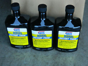12 Brand New Bottles Of Cyclo Diesel Instant Thaw Dissolves Gelled Fuel Fast