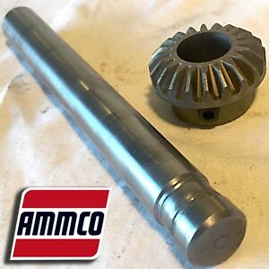Ammco 3054 Shaft 3069 Miter Gear For 3037 Infimatic Feed Brake Lathes 4000