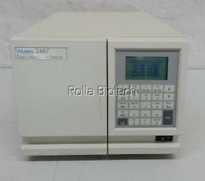 Waters Hplc 2487 Dual Absorbance Detector Chromatography