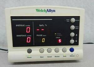 Welch Allyn 52000 Series Vital Signs Patient Monitor 11983