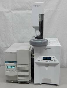 Agilent 6850 Network Gc System With 5973n Network Mass Selective Detector Msd