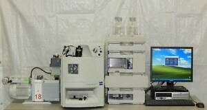 Waters Micromass Zq Mass Spec With Agilent 1100 Front End Hplc W Empower