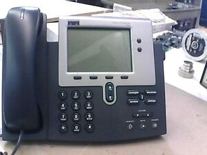 Lot Of 5 Cisco Unified 7940 Business Ip Voip Telephone 68 1042 01 With Lcd