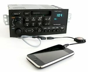 Gm Delco 95 02 Chevy Car S10 Radio Am Fm Cassette Player W Aux Input On Pigtail