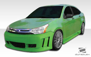 Duraflex Piranha Front Bumper Body Kit 1 Pc For Ford Focus 08 11 Ed10