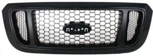 Cpp Black Grill Assembly For 2004 2005 Ford Ranger Grille