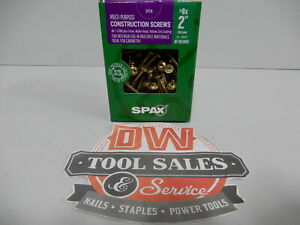 Spax Screws Made In Usa 2 X 8 Washer Head 5lbs Interior Cabinet